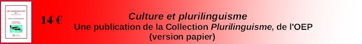 Plurilinguisme et culture (version papier-ed. La Volva)